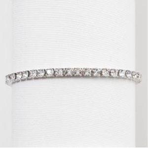 Touchstone crystal stretch Birthstone bracelet